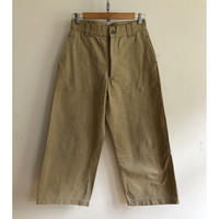 40's French Army Chino Trousers Metal Buttons