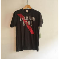 "TODD SNYDER × Champion ""Champion ATHL"" Tee  MADE in Canada"