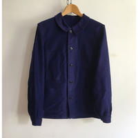 50's Deep Blue Moleskin Coverall Good Condition