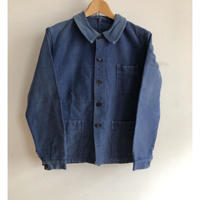 "50's ""LE VETMENT DE FORCE 3etolies"" Good Faded Moleskin Coverall"
