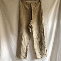 〜30's French Military Bourgeron Trousers