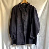 60's Black HBT (Over dyed?) Work  Coat.
