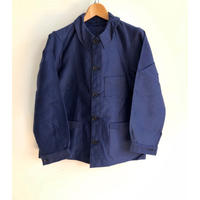 Ealry 40's Pattern Ink Blue Moleskin Coverall Dead Stock