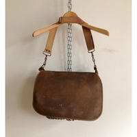 30's French Hunting Leather Bag/2