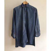 20's〜30's Indigo Linen French Farmers Smock Good Condition