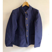 Later30's〜Early40's Wood Buttons Ink Blue Coverall Dead Stock