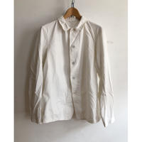 50's British Change Buttons White Work Coverall (Royal Navy?)
