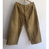 Early 40's French Military Chino Trousers With Metal Buttons Exellent Condition/1