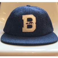 "The BROOKLYN CIRCUS Felt ""B"" Ball Cap"