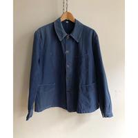 〜1930's Indigo Cotton French Workwear