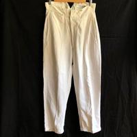 1910's White HBT Linen Fireman Pants