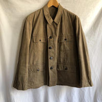 1950's Cotton Canvas Hunting Jacket