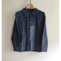 "30's Patced and Reperaed ""Metal Buttons"" French Work Jacket"