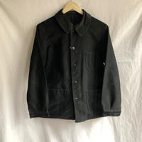 40's/Early50's Black Moleskin Coverall Dubre&Deverchere