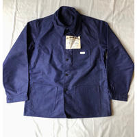 "50's ""Le Sant pareil"" Ink Blue Moleskin Coverall Dead Stock"