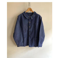 40's〜Early 50's Ink Blue Moleskin Coverall