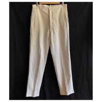 〜1930's White HBT Linen Work Pants
