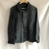40's/50's Repaired Black Moleskin/1
