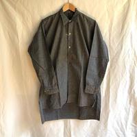 1950's Black Chambray Work Shirt Dead Stock