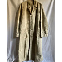 〜Later40's Natural Linen Painter Coat Dead Stock