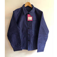 "50's Ink Blue Moleskin Coverall Dead Stock Made from ""Mont Kemmel"""