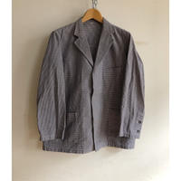 "60's Hidden Buttons Line ""Butcher Jacket"" Mint Condition"