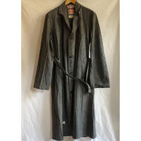 "50's Black Chambray Atelier Coat Dead Stock Made by ""LABOR"""