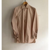 "40's〜50's French farmer's ""Holiday shirt"" Old Pattern Dead Stock"