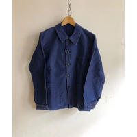 "50's Ink Blue Moleskin Coverall Made by ""KONECO"""