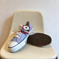 90's MADE IN USA CONVERSE ALL STAR Low Cut 箱付き Dead Stock Size 9 Purple Cloud