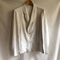 1910's〜1920's Cotton/Satin Light Weight Sack Jaket