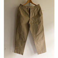 "50's French Army Chino Trousers "" Colony Made"" Exellent Condition"