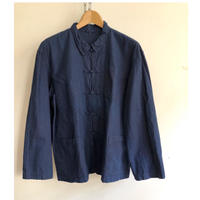 Indigo Cotton French China Jacket