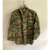 "70's French Army M47 Field Jacket Lizard Striped Pattern For ""Foreigner Unit"""