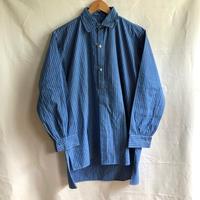 1920's Blue/Navy Striped Farmers Work Shirt