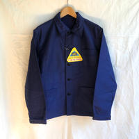 Later1950's〜1960's Blue Moleskin Coverall Dead Stock Made by Le Mont St Michel