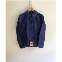 """Later40's Ink Blue Moleskin Coverall Dead Stock Made by """"VIGENNA""""  Metal Button"""