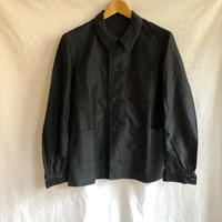 30's Lighter Black Moleskin Coverall Dead Stock