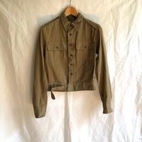 1940's British Indian Army Aertex Fabric Battle Dress Blouses Dead Stock