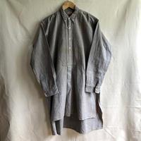 1930's light Flannel Button Down Collar Farmers Shirt Dead Stock