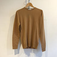 """JOHN SMEDLEY """"IMPERFECT LUNDY Pullover"""" Camel Fine Merino Wool"""