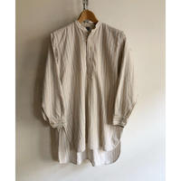 30's Collarless Farmer's Smock (Grandpa Shirt)