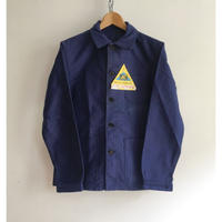 40's〜50's Le Mont Saint Michel Ink Blue Moleskin Coverall Dead Stock
