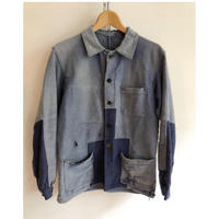 "30's Ink Blue Moleskin Boro Coverall Made From ""Au Fusil"""