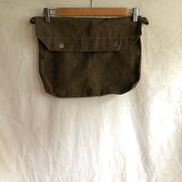 1940's〜1950's French Military Musette Bag Dead Stock Linen Fabric