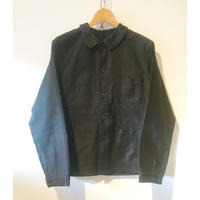 50's Black Moleskin Work Jacket