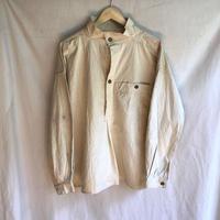 〜1930's French Military Metis(Cotton/Linen) Bourgeron Smock