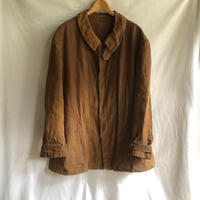 〜1930's Brown Linen Hunting Cape