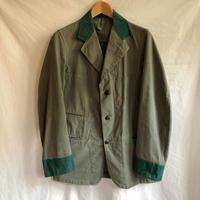 40's〜50's British Two tone Collaring Workwear
