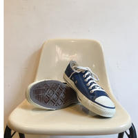 90's MADE IN USA CONVERSE ALL STAR Low Cut 箱付き Dead Stock  Size 8 Navy
